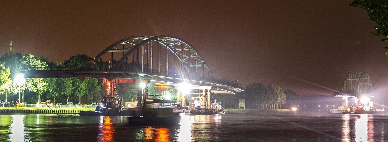 Removal of 5 bridges over the Amsterdam-Rhine canal