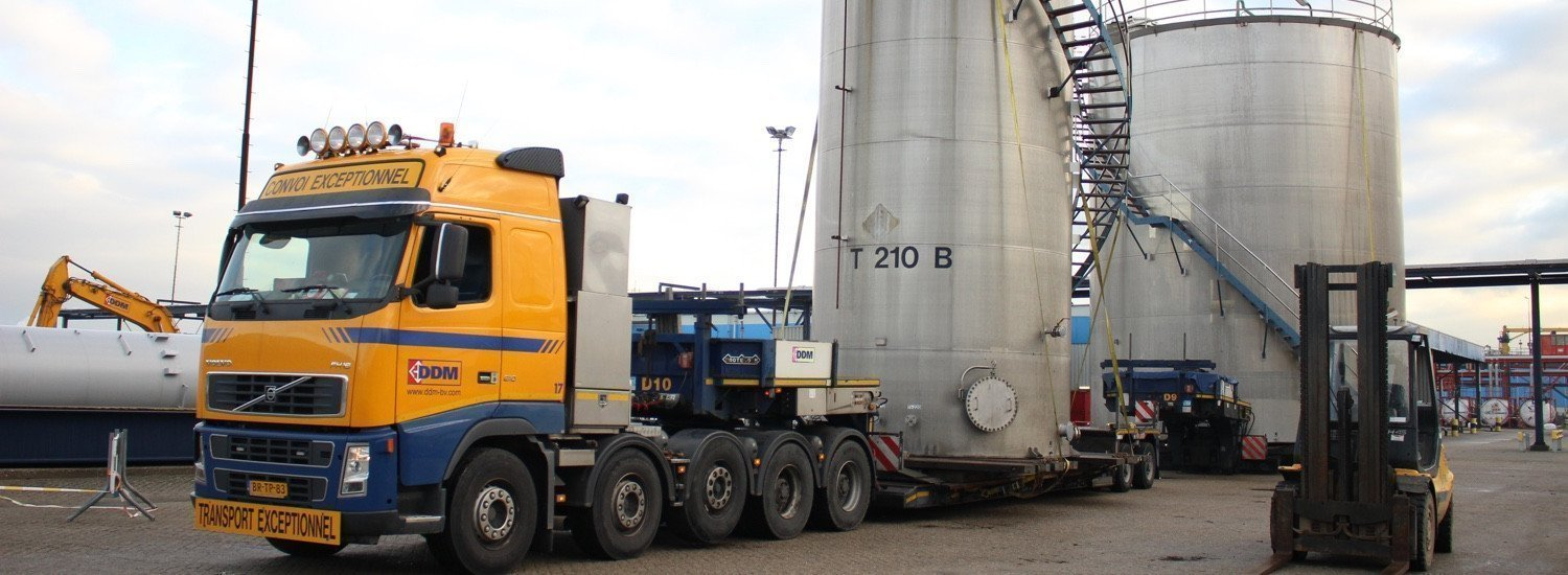 dismantling and transport of storage tanks